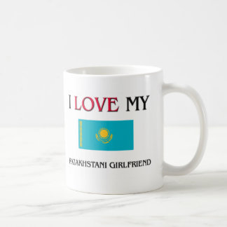 Amo a mi novia de Kazakhstani Taza De Café