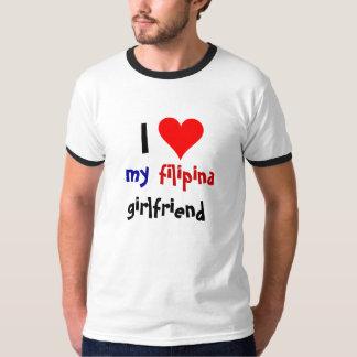 Amo a mi novia de la filipina playera