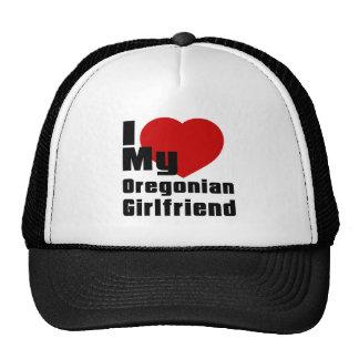 Amo a mi novia de Oregonian Gorra