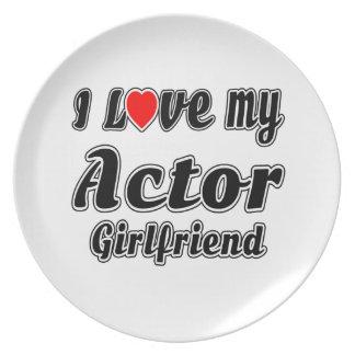Amo a mi novia del actor platos de comidas