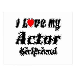 Amo a mi novia del actor postal