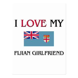 Amo a mi novia del Fijian Postal