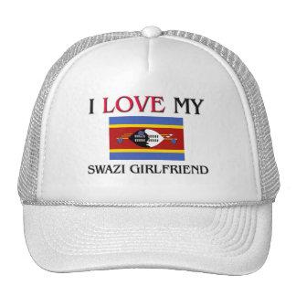 Amo a mi novia del Swazi Gorros Bordados