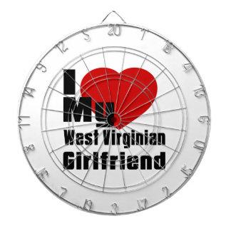 Amo a mi novia del Virginian del oeste