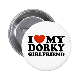 Amo a mi novia Dorky Pin Redondo 5 Cm