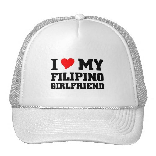 Amo a mi novia filipina gorro