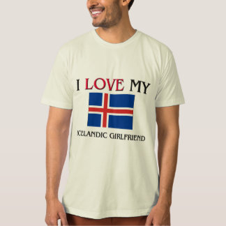 Amo a mi novia islandesa playera