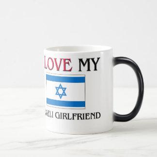 Amo a mi novia israelí taza mágica