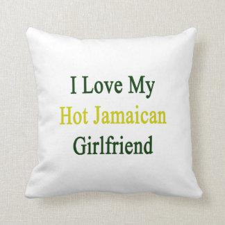 Amo a mi novia jamaicana caliente cojín