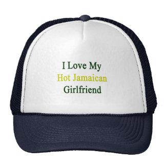 Amo a mi novia jamaicana caliente gorra