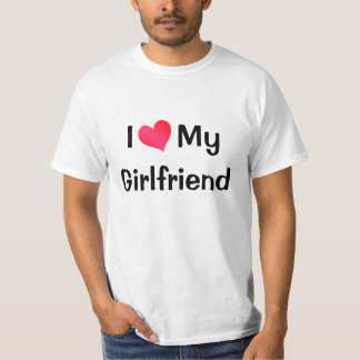 Amo a mi novia playera