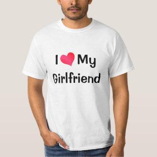 Amo a mi novia playeras