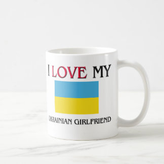 Amo a mi novia ucraniana tazas