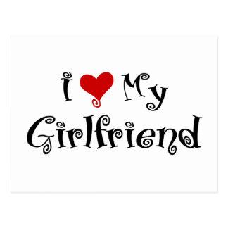 Amo a mi novia (v1) postales