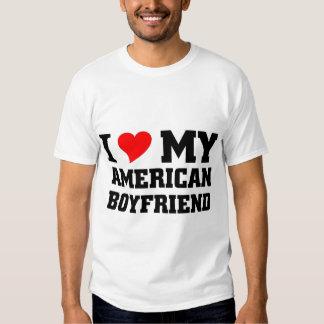 Amo a mi novio americano poleras