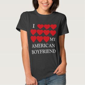 Amo a mi novio americano remeras