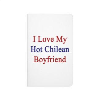 Amo a mi novio chileno caliente cuadernos