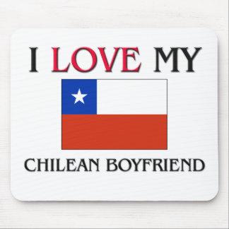 Amo a mi novio chileno alfombrilla de raton