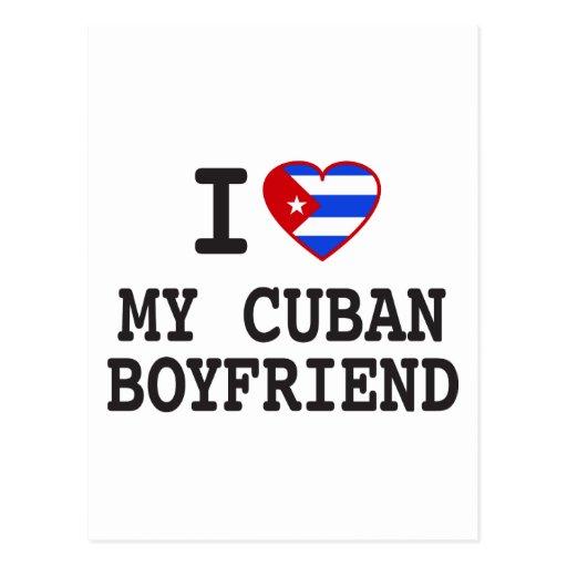 Amo a mi novio cubano con el corazón cubano de la  postales