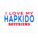Amo a mi novio de Hapkido Postal