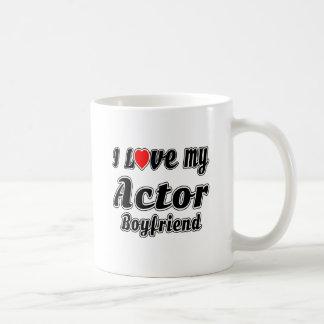Amo a mi novio del actor tazas