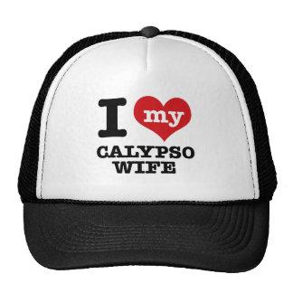 Amo a mi novio del calypso gorros