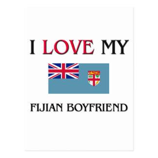Amo a mi novio del Fijian Postal