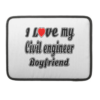 Amo a mi novio del ingeniero civil fundas para macbook pro