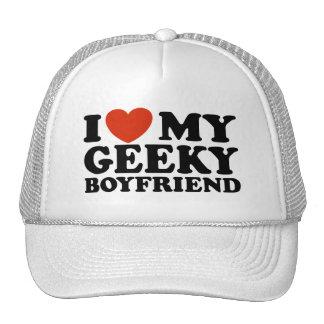 Amo a mi novio Geeky Gorros