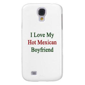 Amo a mi novio mexicano caliente funda para galaxy s4