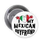 Amo a mi novio mexicano pins
