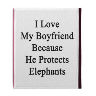 Amo a mi novio porque él protege elefantes