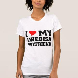 Amo a mi novio sueco playera