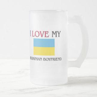 Amo a mi novio ucraniano tazas de café
