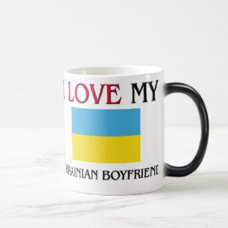 Amo a mi novio ucraniano taza de café