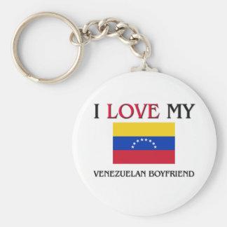 Amo a mi novio venezolano llaveros personalizados