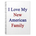 Amo a mi nueva familia americana