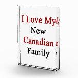 Amo a mi nueva familia canadiense