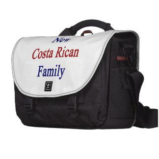Amo a mi nueva familia de Rican de la costa Bolsas Para Ordenador