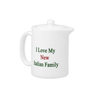 Amo a mi nueva familia italiana