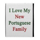 Amo a mi nueva familia portuguesa