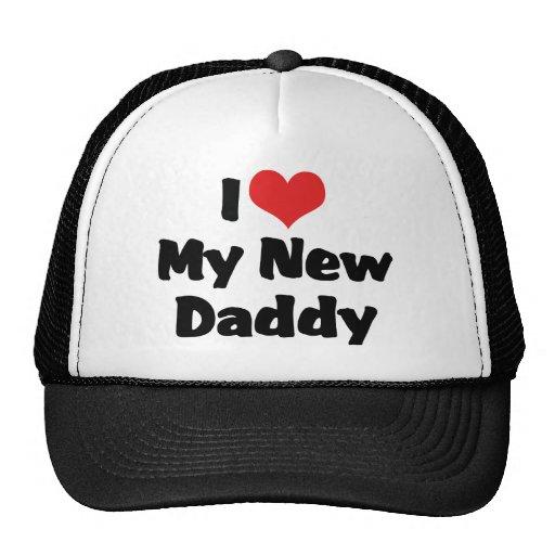 amo a mi nuevo papá gorro