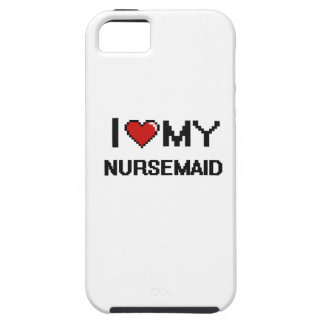 Amo a mi Nursemaid iPhone 5 Funda