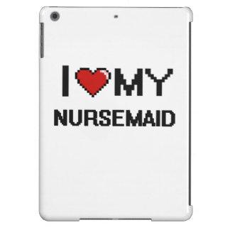 Amo a mi Nursemaid Funda Para iPad Air