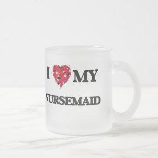 Amo a mi Nursemaid Taza De Cristal