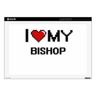 Amo a mi obispo portátil skin