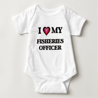 Amo a mi oficial de las industrias pesqueras playeras