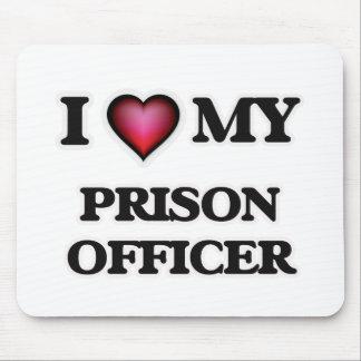 Amo a mi oficial de prisión tapetes de ratones