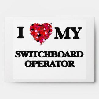 Amo a mi operador de centralita telefónica sobre