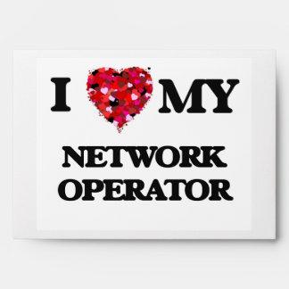 Amo a mi operador de red sobre
